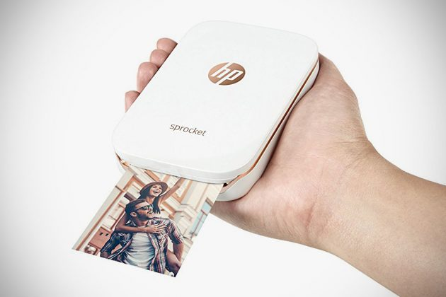 HP Sprocket Photo Printer Prints On ZINK Photo Paper, Cost ...
