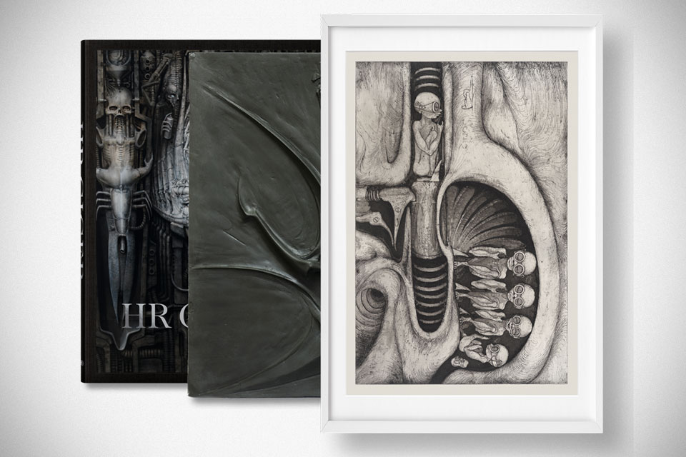 HR Giger. Art Edition Nr. 1–100 'Relief + Photogravure'