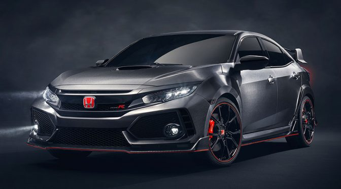 Honda Civic Type R Prototype Unveiled In Paris And It Is Headed To The U.S.