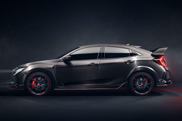 Honda Civic Type R Prototype Unveiled in Paris