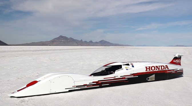S660 Engine Plumped Honda S Dream Streamliner Is The Fastest Honda Ever