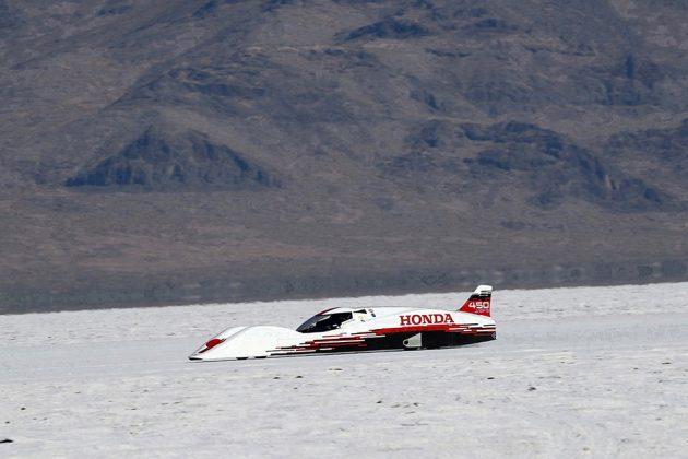Honda S Dream Streamliner Set Bonneville Records