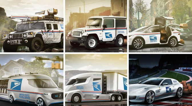 What If USPS Has Hummer Or Tesla As Part Of Their Delivery Fleet?