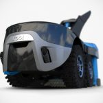 Futuristic Garden Robot Will Clear Snow, Mow Lawns, And Mulches Leaves