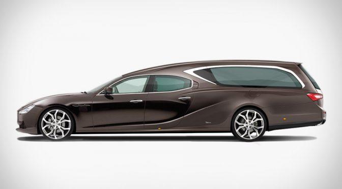 Maserati Hearse by Ellena Funeral Car