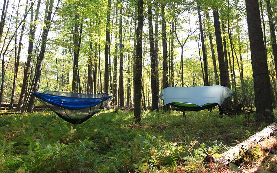 Nub 233 Stratos Modular Hammock Shelter Keeps Bugs Out Rain