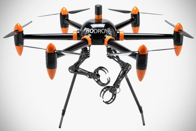 ProDrone PD6B-AW-ARM Drone With Dual Robot Arm