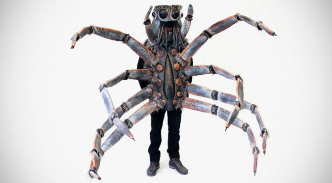 Wolf Spider-Inspired Halloween Costume: It's A Scary Party Spider