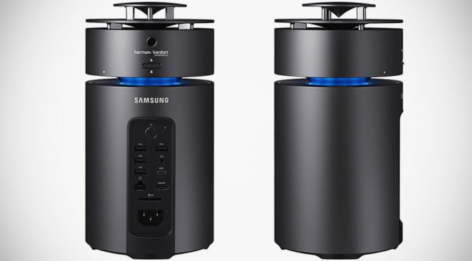 Samsung's Cylindrical PC Quietly Creeps Into Market, Cost A Cool $1,200