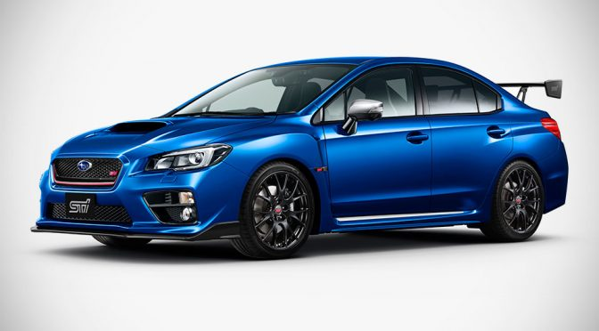 Subaru STI Limited Edition WRX S4 tS Sports Sedan
