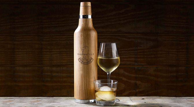 The Oak Bottle Puts Taste Of Oak In Your Wine In A Matter Of Hours