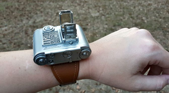 Vintage Wrist Worn Mini 35mm Camera