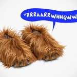 Chewie's Feet-lookalike Slippers Makes Iconic Chewie Roars As You Walk