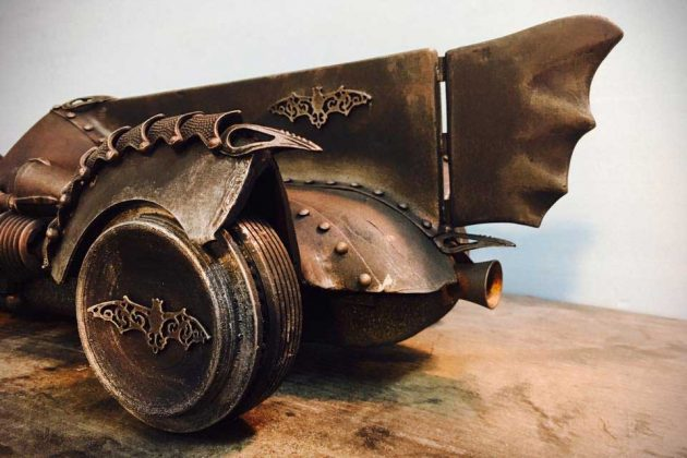 1/8 Steampunk Batmobile by Olivier Xavier