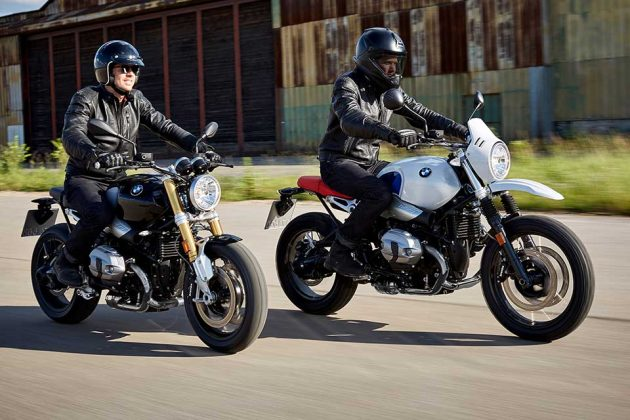2017 BMW R nineT and R nineT G/S