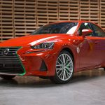 Sriracha-infused 2017 Lexus iS Is Quite Literally The Hottest Car Right Now