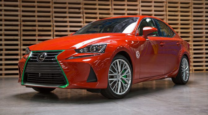 2017 Lexus Sriracha iS Sports Sedan