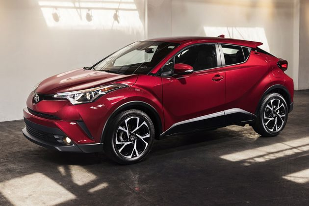 2018 Toyota C-HR (Coupe High-Rider)