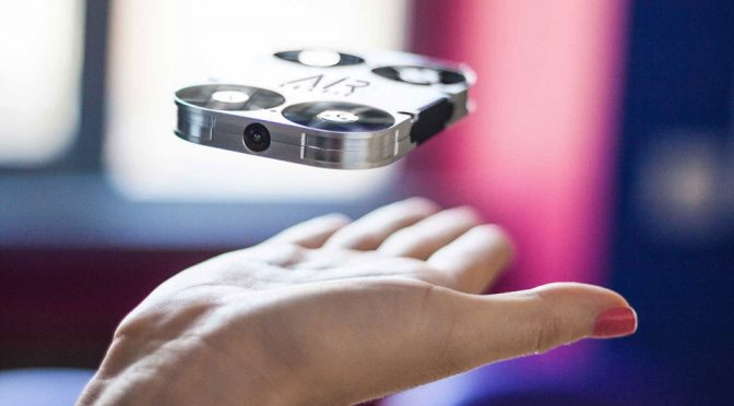 Selfie Drone Reinvented, Fits Right On The Back Of Your Smartphone