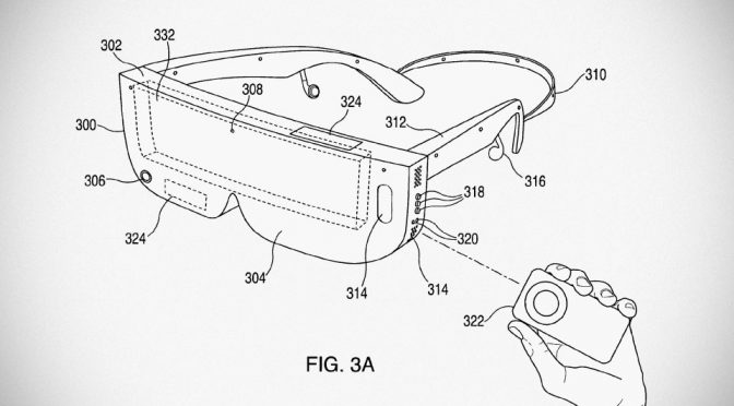 Apple Granted Patent For 'Slim' Eyewear-style Virtual Reality Headset