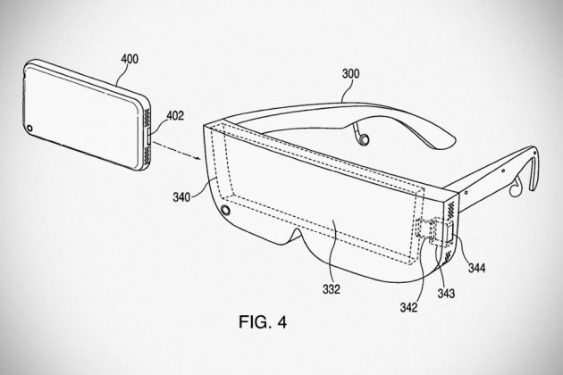 Apple Granted Patent for Eyewear-style VR Headset