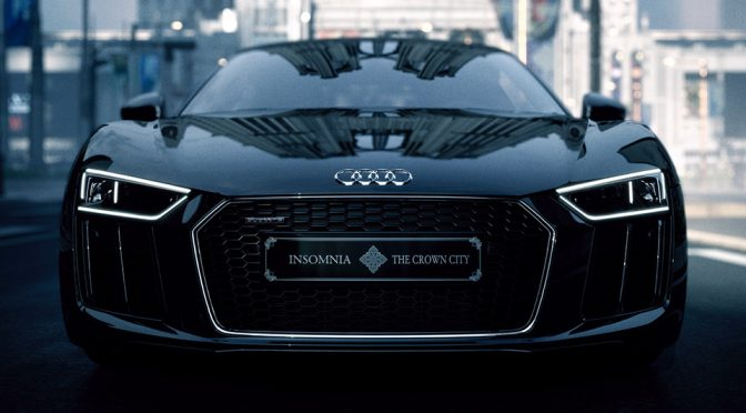 Audi x Final Fantasy XV The Audi R8 Star of Lucis