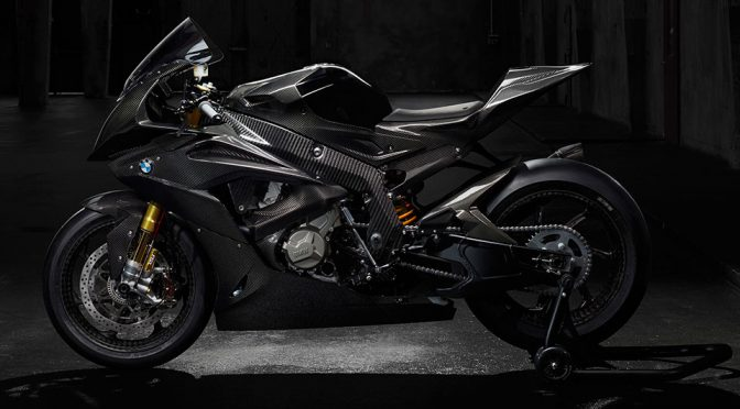 BMW Unveiled Carbon Fiber Sport Bike Along With A Slew Of Bike Updates