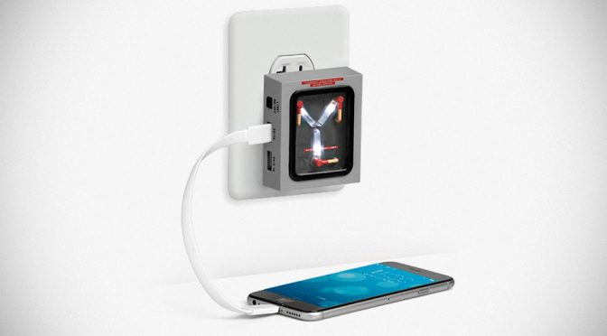 Flux Capacitor For Home Charges Your Devices But Won't Let You Time Travel