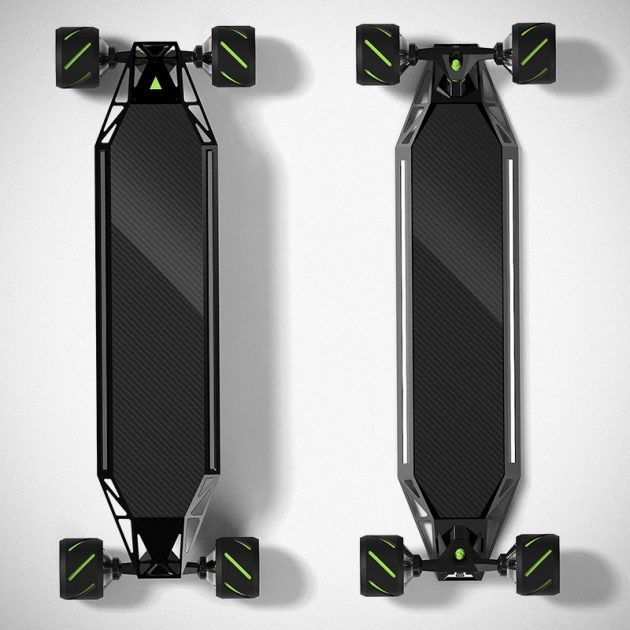 Blink Qu4tro Electric Skateboard by Acton