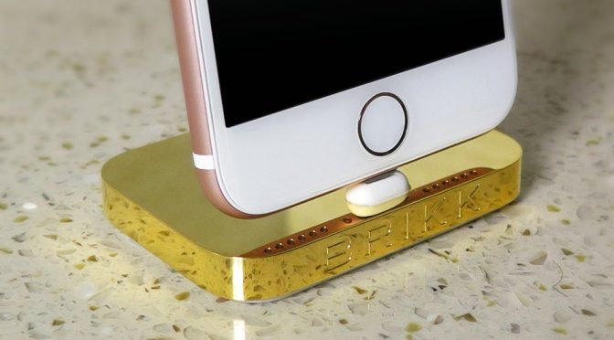 Luxury iPhone Dock Is Here Because It Matches Your $8,000 iPhone