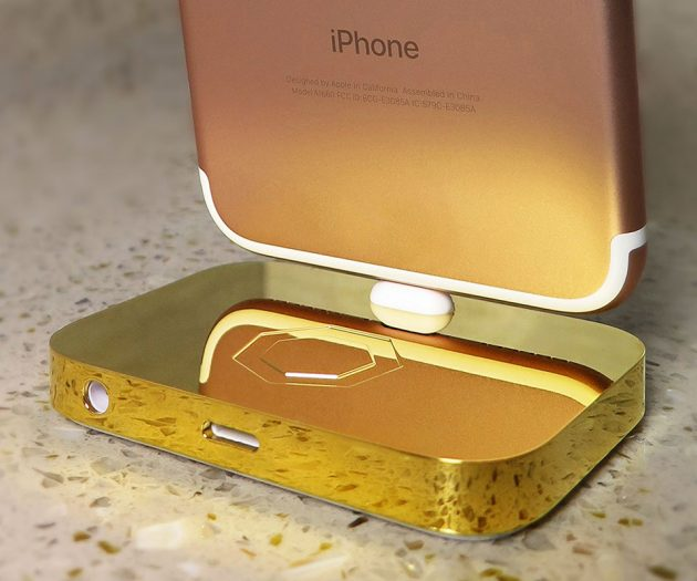 Lux iPhone Dock by Brikk