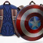 This Shield Backpack Will Make <em>Captain America</em> Envious Of Your Logistics