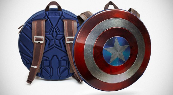 This Shield Backpack Will Make <em>Captain America</em> Envious Of Your Logistics