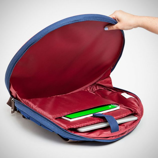 Captain America Civil War Distressed Shield Backpack