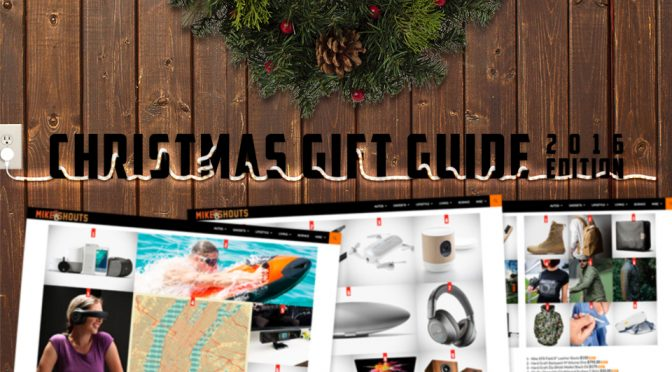 Christmas Gift Guide 2016 Edition