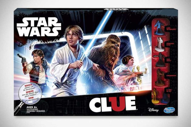 Clue Game: Star Wars Edition by Hasbro