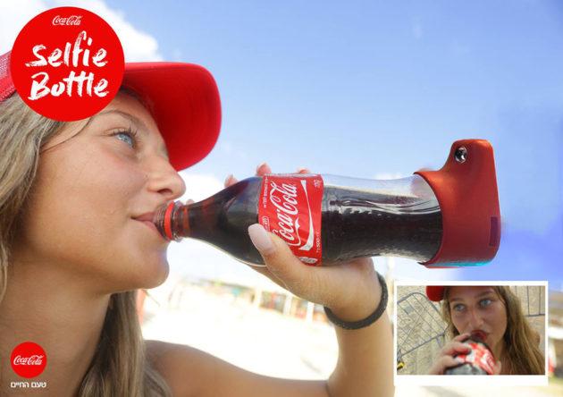 Coca-Cola Selfie Bottle by Gefen Team