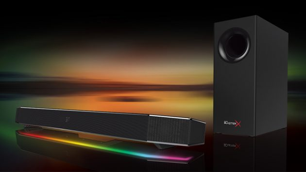 Creative Sound BlasterX Katana Under-Monitor Audio System