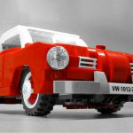 This Custom LEGO VW Karmann Ghia Has Removable Radio Just Like The Classic