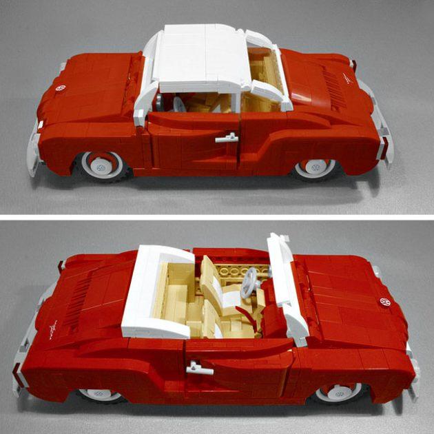 Custom LEGO VW Karmann Ghia by Mandylion777