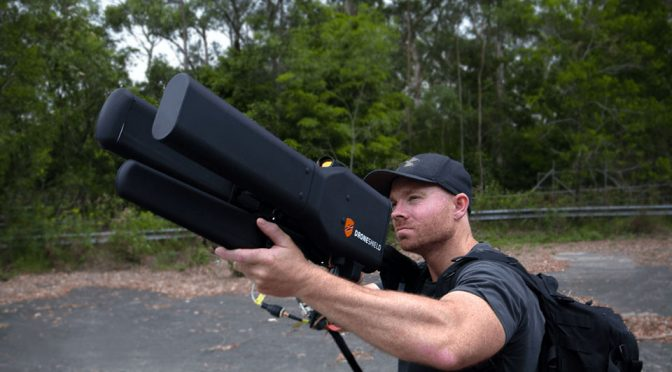 DroneGun Tactical Drone Jammer by DroneShield