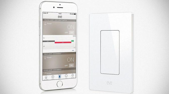 Elgato Eve Light Switch Lets You Use Siri To Turn Your Lights On And Off