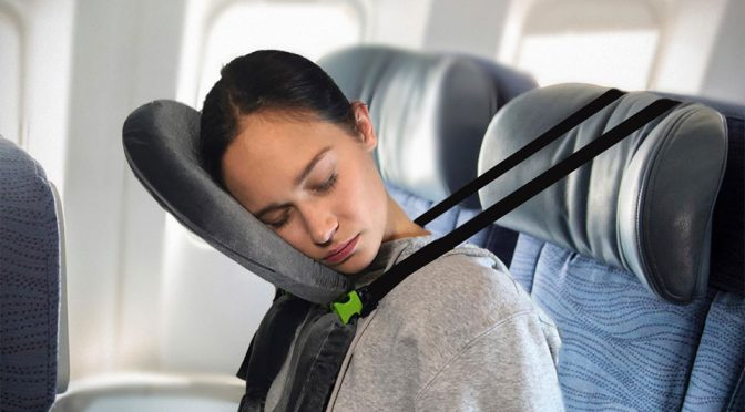 This Unusual Travel Pillow Lets You Sleep In 5 Different Ways When Flying