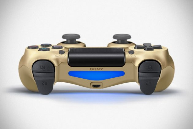 Gold Edition Playstation Dualshock 4 Controller
