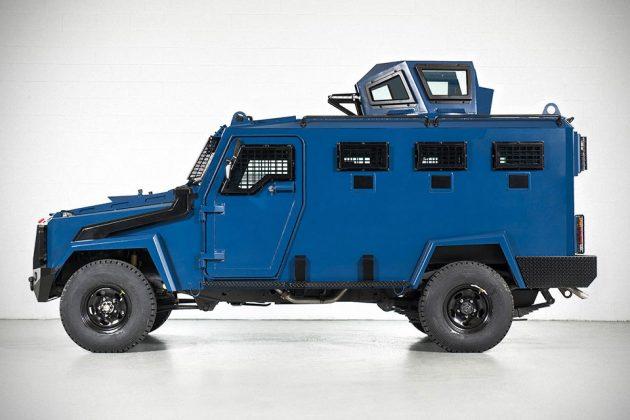 Inkas Toyota Land Cruiser Armored Vehicle