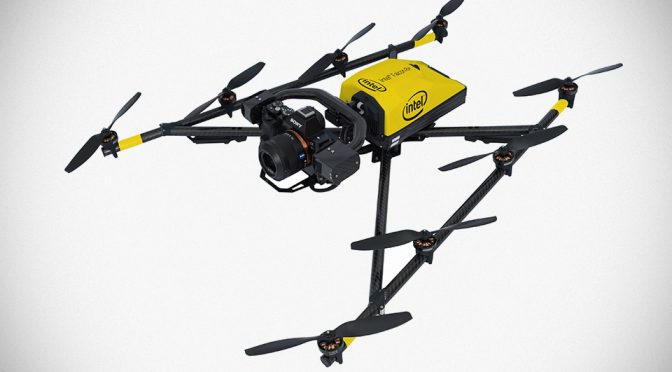 This Is Intel Falcon 8+, The First Intel-branded Commercial Drone