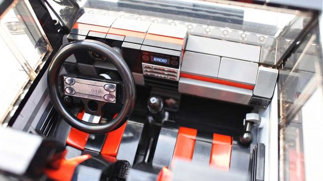 LEGO Creator VW Golf Mk1 GTI by hasskabal