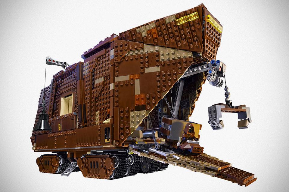 Good News Amazon Just Dropped Lego Ucs Sandcrawler Priced