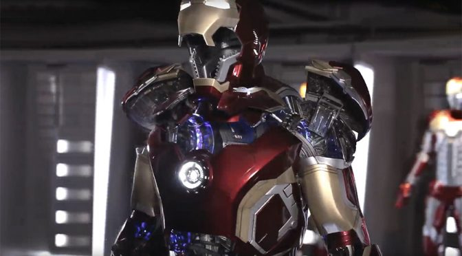 Wow. This Life-size Motorized Iron Man Suit Opens Up Like The Real Thing!