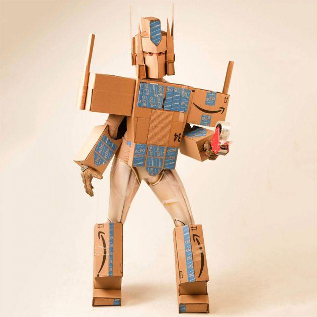 Optimus Amazon Prime Costume